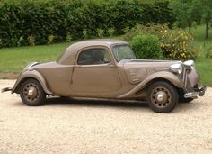 1938 Citroen 11B Traction Avant coupe is said to be one of only four built that year and 15 in total.