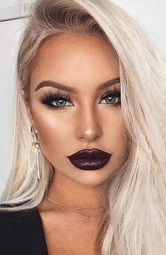 Fall Elegance Eyes Makeup Ideas #makeuplooksbeautiful