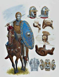 Equites Legionis (Legionary Horseman). Mid 2nd century CE.