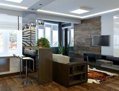 Дизайн квартиры-студио