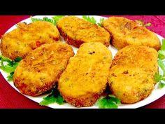 Δεν έχετε δοκιμάσει ποτέ τόσο νόστιμη πατάτα! Λίγα λεπτά και το δείπνο είναι έτοιμο! - YouTube Vegetable Chips, Vegetable Recipes, Vegetarian Recipes, Cooking Recipes, Onion Recipes, Potato Recipes, Sweet Potato Rice, Good Food, Yummy Food