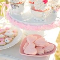 Valentine's Tea Party from Auntie Bea's