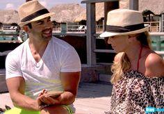 Watch Eddie pop the question (via clam) to Tamra again!