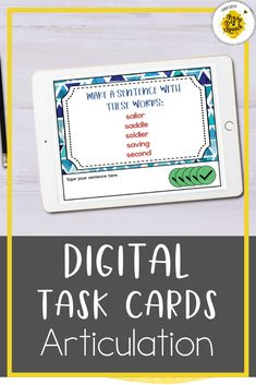 This speech therapy digital resource is perfect for teletherapy or used with your IPad. They are perfect for articulation drill and practice during distance learning