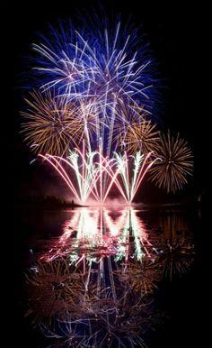 Globalfest fireworks display in Calgary. Calgary, Fireworks, Fair Grounds, Display, Spaces, Flowers, Plants, Travel, Floor Space