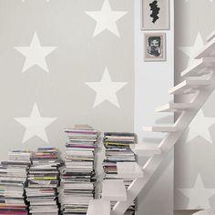 ESTRELLA - Leroy Merlin Leroy Merlin, Bookcase, Shelves, Wallpaper, Diy, Home Decor, Garden, Ideas, Wall Papers