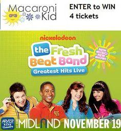 The Fresh Beat Band Greatest Hits Live in Kansas City Nov 19th | Macaroni Kid Enter to win 4 tickets #contest #kansascity #mackid
