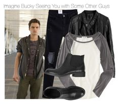 """Imagine Bucky Seeing You with Some Other Guys"" by fandomimagineshere ❤ liked on Polyvore featuring Sebastian Professional, Aéropostale and ESPRIT"