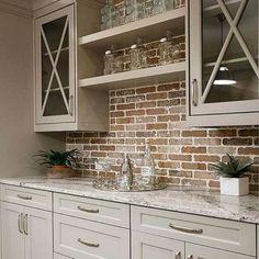 Duvarlarınızı Güzelleştirecek Niş Modelleri-50 Adet   Evde Mimar Kitchen Tiles Design, Kitchen Wall Tiles, Kitchen Cabinet Colors, Kitchen Cabinetry, Modern Kitchen Design, Painting Kitchen Cabinets, Kitchen Colors, Kitchen Ideas, Kitchen Pantry