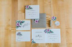 Sommerliche Gartenpapeterie von marryme  MarryMe Design http://www.hochzeitswahn.de/inspirationsideen/fruehlingsfrische-gartenhochzeit-papeterie/ #wedding #weddinginvitations #invitations