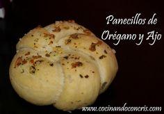 Cocinando con Cris: Panecillos de Orégano y Ajo Paso a Paso