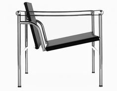 Le Corbusier, Pierre Jeanneret, and Charlotte Perriand / LC-1 Chair