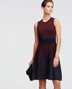 7db3a01d44b3 Ombre Sleeveless Sweater Dress | Ann Taylor Tall Dresses, Necklines For  Dresses, Business Attire