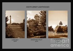 South Jersey lighthouses