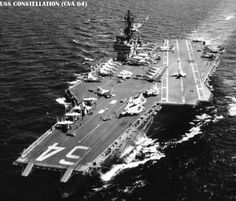US Aircraft Carrier VIETNAM | Photos: [ Constellation as completed ],[ After SLEP ].