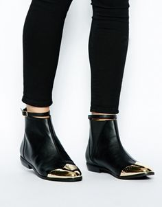 ASOS ABOUT A BOY Ankle Boots The toe caps!