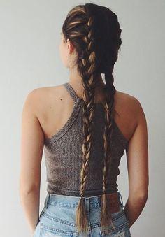 cabello inmenso