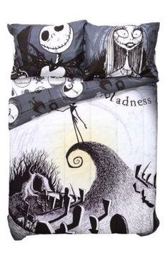 Nightmare Before Christmas Jack Skellington Full/Queen Comforter