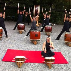 I want to play taiko drums!