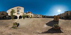La place et les maisons de Monpazier  -  France