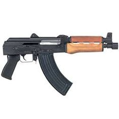 Century Zastava PAP M92 Semi Auto Handgun 7.62x39 10 Barrel 30 Rounds Wood Handguards Black Finish HG3089-N
