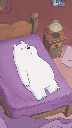 We bare bears Bear Wallpaper, Kawaii Wallpaper, Wallpaper Iphone Cute, Disney Wallpaper, Ice Bear We Bare Bears, We Bear, Wallpaper Fofos, We Bare Bears Wallpapers, Cartoon Icons