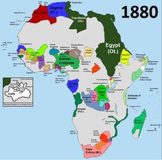 History Discover Africa before partition - Vivid Maps Partition of Africa (Scramble for Africa) was the occupation division and colonisation of African territory by European powers during the African Empires, African History, History Books, World History, European History, Afrique Art, Geography Map, Black History Facts, Alternate History