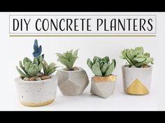 Actualmente el cemento también llamado concreto u hormigón es utilizado en variadísimos objetos del hogar. Hoy nos ocuparemos de las macetas de cemento, que