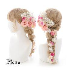 .  Gallery 463  . 【 結婚式髪飾り 】 . #Picco #オーダーメイド髪飾り #カラードレス #結婚式 . アンティークピンクのトリプルローズをメインに、かすみ草と小花をボリュームよく盛り込んだラプンツェルスタイル カラードレスの配色に合わせてエレガントに仕上げました✨ . . #ローズ #ピンク #アンティーク #ドレス #ウェディングヘア . デザイナー @mkmk1109 . . . #ヘッドパーツ #髪飾り #ヘッドドレス #花飾り #造花 #ウェディングドレス #披露宴 #パーティー #プレ花嫁 #花嫁 #ウェディングフォト #結婚式前撮り #結婚式準備 #花冠 #プレ花嫁 #ウェディング #ウェディングアイテム #ブライダルフォト #ウェディング小物  #rapunzel #princess