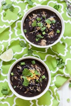 Crock Pot Black Bean Soup | 24 Dump Dinners You Can Make In A Crock Pot