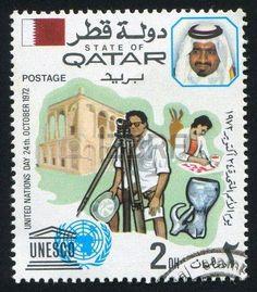Sello #topografo alegórico Qatar #topografia