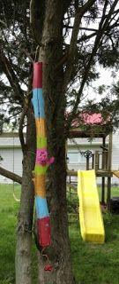 theArtisticFarmer: Painted Stick Garden Art