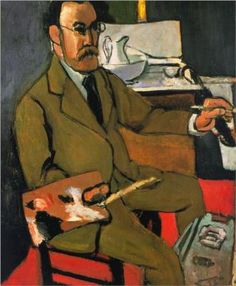 Henri Matisse - Self Portrait