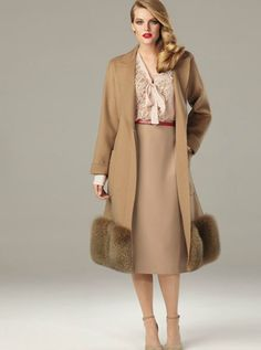 Marina Rinaldi...except for the fur on the bottom...not my style ...love everything else though...