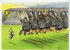"""Footrot Flats"" meets the All Blacks! Footrot Flats, All Blacks, Comic Strips, Rugby, New Zealand, Comics, Kiwi, Boys, Classic"
