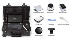Touch Screen Laptop, Ultrasound, All In One, Mobile App, Health Care, Remote, Medical, Coding, Kit