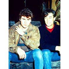 George And Andrew #georgemichael #andrewridgeley #wham