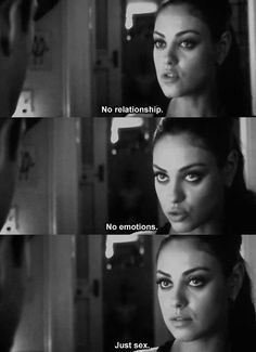 Friends with benefits closing time! Friends with benefits closing time! Sex Quotes, Film Quotes, Funny Quotes, Mila Kunis, Friends With Benefits Movie, Bff, We Heart It, Best Movie Lines, Videos Tumblr
