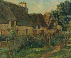 Ile de France Landscape - Armand Guillaumin