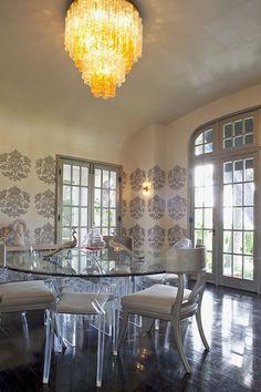 Opulent Dining Room |design Tamara Kaye-Honey | House & Home