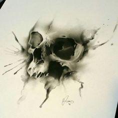 Tattoo Trends – Glen Preece Tattoo Skull – This guy is awesome!… - Best Tattoo Trends – Glen Preece Tattoo Skull – This guy is awesome! Skull Tattoo Design, Skull Design, Tattoo Designs, Little Tattoos, Tattoos For Guys, Cool Tattoos, Tattoo Sketches, Tattoo Drawings, Tatoo Crane