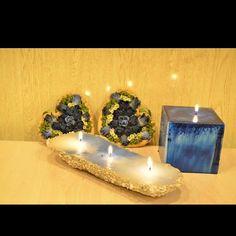Handmade sand candles