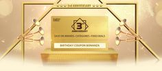 March 2017 Birthday Coupons Birthday Celebrated With Huge Coupon Savings. Gearbest has turned old and to celebrate Birthday Celebration, 3rd Birthday, Birthday Coupons, Cell Phone Deals, Coupon Deals, Vape, Anniversary, Gadget, Place Card Holders