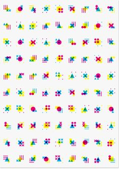 Kaai Theater | Modern Practice geometric colorful icon: