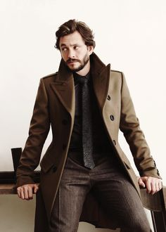 Hugh Dancy for August Man  #men #fashion #man #outfit #mensfashion #mensoutfits #style #inspiration #handsome #layering