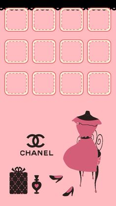 ✿Duitang ~ Levana Chanel Icons Wallpaper.