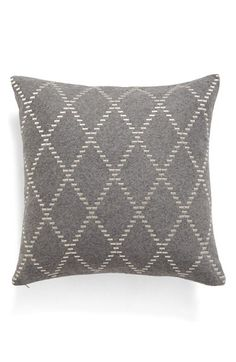 Nordstrom at Home Nordstrom at Home Metallic Diamond Accent Pillow available at #Nordstrom