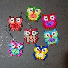 Owls hama beads by latanadelconiglio