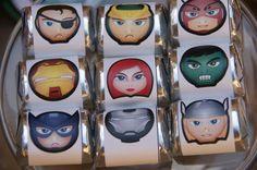 Avengers Birthday treats