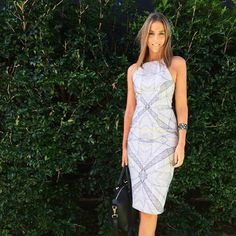 93eb01db3a Our KOOKAÏette looks amazing wearing the Alaska Midi Dress